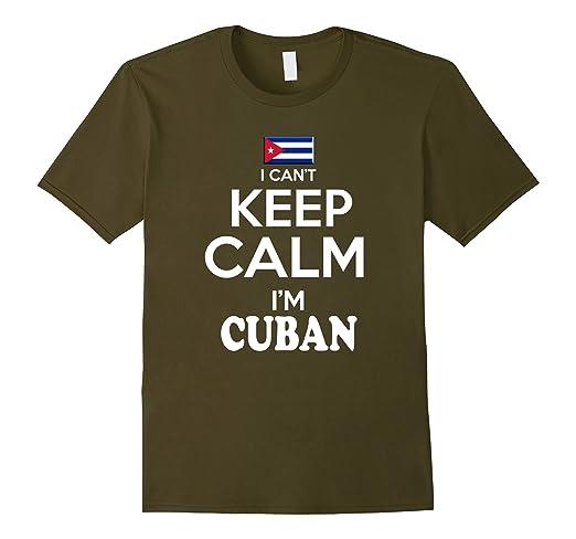 Amazon.com: Cuba Keem Calm tshirt Cuban Pulover Camiseta Cubana: Clothing