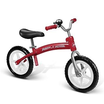 Amazon Com Radio Flyer 800x Glide Go Balance Bike Red Toys Games
