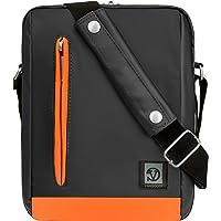 "Vangoddy Orange Trim Anti-Robo Vertical Crossbody Bolsa de Hombro Mensajero para Apple iPad 9.7"", iPad Pro 10.5"" & 9.7"", iPad Mini 7.9"""