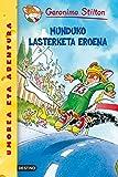 Munduko Lasterketa Eronea: Geronimo Stilton Euskera 6 (Libros en euskera)