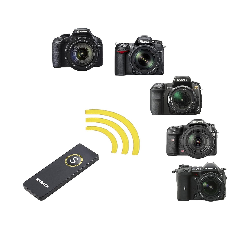 Universal inalámbrico Disparador por Infrarrojos para cámaras Canon, Nikon, Sony, Pentax y Olympus: Amazon.es: Electrónica