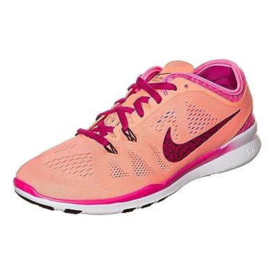 Nike Damen Free 5.0 Tr Fit 5 Sneakers, Hellrosa/Fuchsia, 39 EU