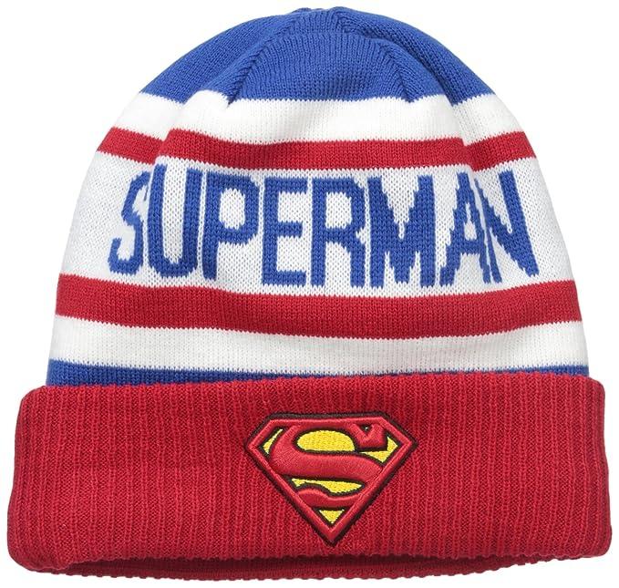 6e3d035012f New Era Cap Men s Biggest Fan 2.0 Superman Knit Beanie