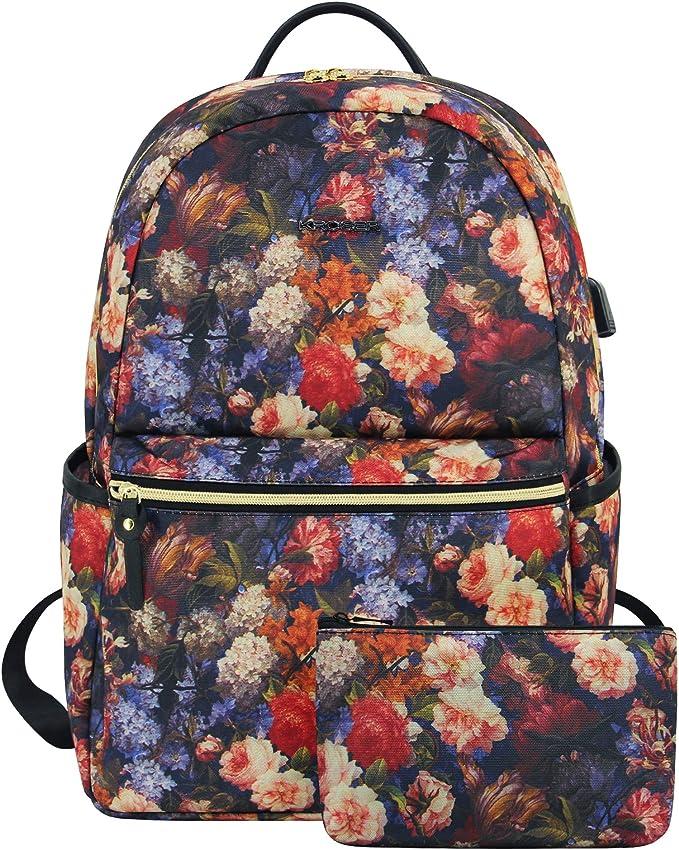 Black Water-Resistant 15.6 Computer Backpack School Bag for Travel//Work//College Myhozee Laptop Backpack Handbag Women Mens
