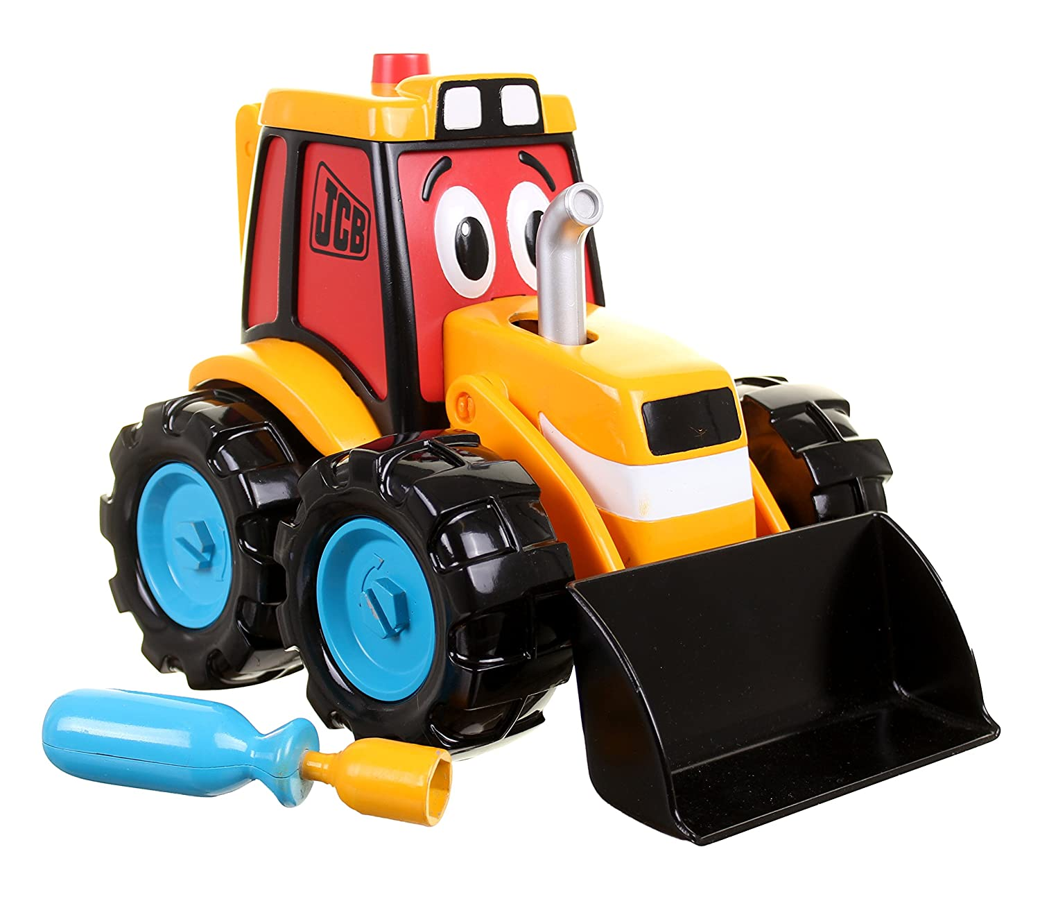 my 1st jcb build and go digger amazon co uk toys u0026 games