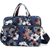 kayond Watercolor Orchid Canvas Fabric 13.3 inch Shoulder Bag