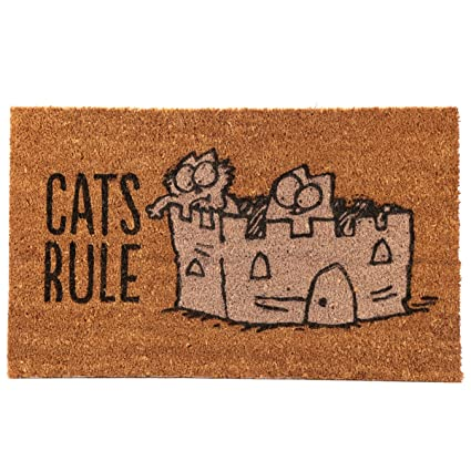 Subitodisponibile Felpudo – Cat S Rule – I gatos dettano Le Reglas – Simon s