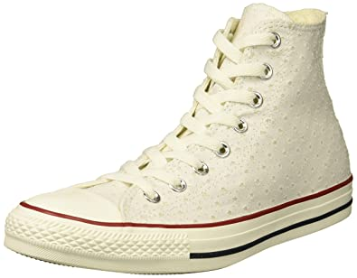 0bb1f6a001b0bb Converse Women s Chuck Taylor Perforated Stars High Top Sneaker