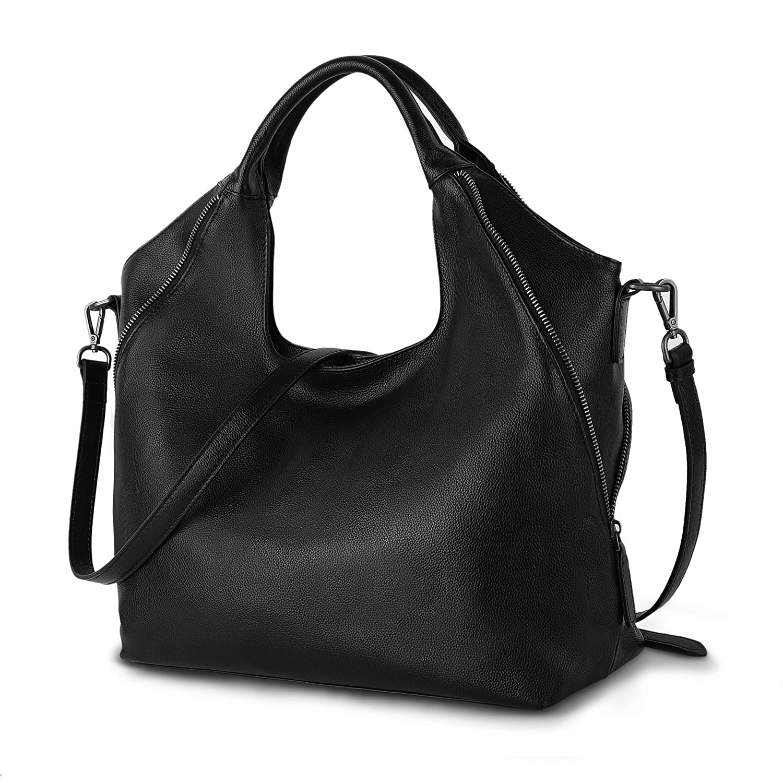 fa50f581a31c Amazon.com: YALUXE Shoulder Bag Fashion Design Slimming Tote for ...