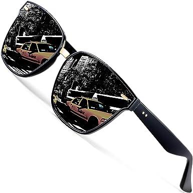 f61348680d Amazon.com  ATTCL Unisex Sunglasses 100% Polarized UV Protection 555 ...