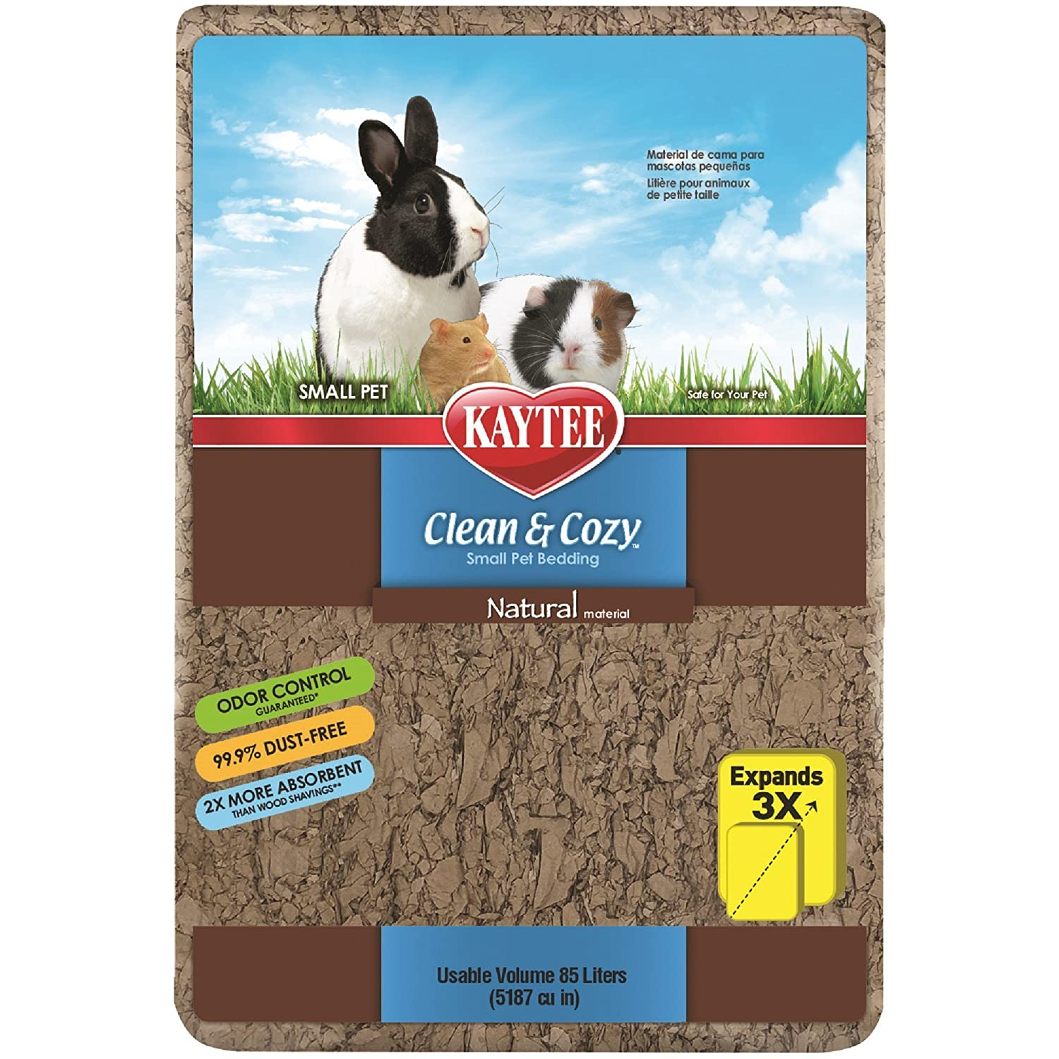 Kaytee Clean & Cozy Natural Pet Bedding 1728 Cubic inch