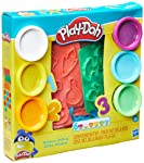 Conjunto Massinha Play Doh Numeros - E8533 - Hasbro Play-doh Conjunto Massinha Play Doh Numeros Variadas