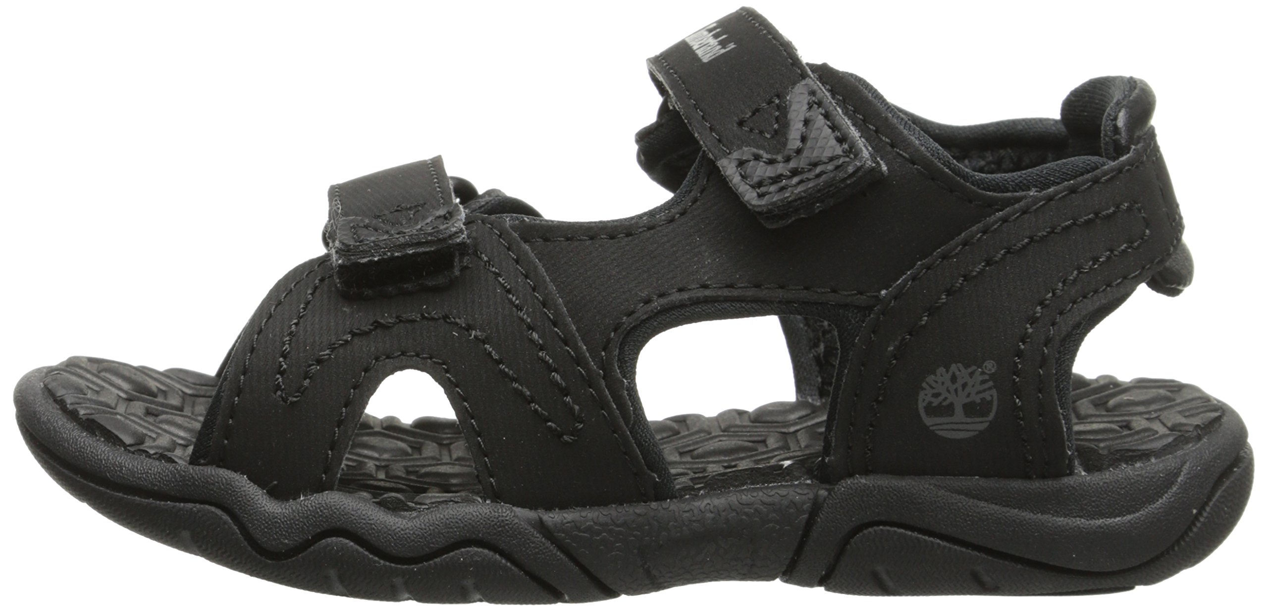 Timberland Adventure Seeker Two-Strap Sandal (Toddler/Little Kid),Blackout,9 M US Toddler by Timberland (Image #5)