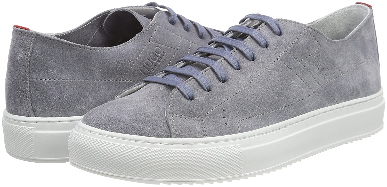 HUGO Damen Grünwich (Medium Niedrig Cut-s Sneaker Grau (Medium Grünwich Grau 036) ecd413