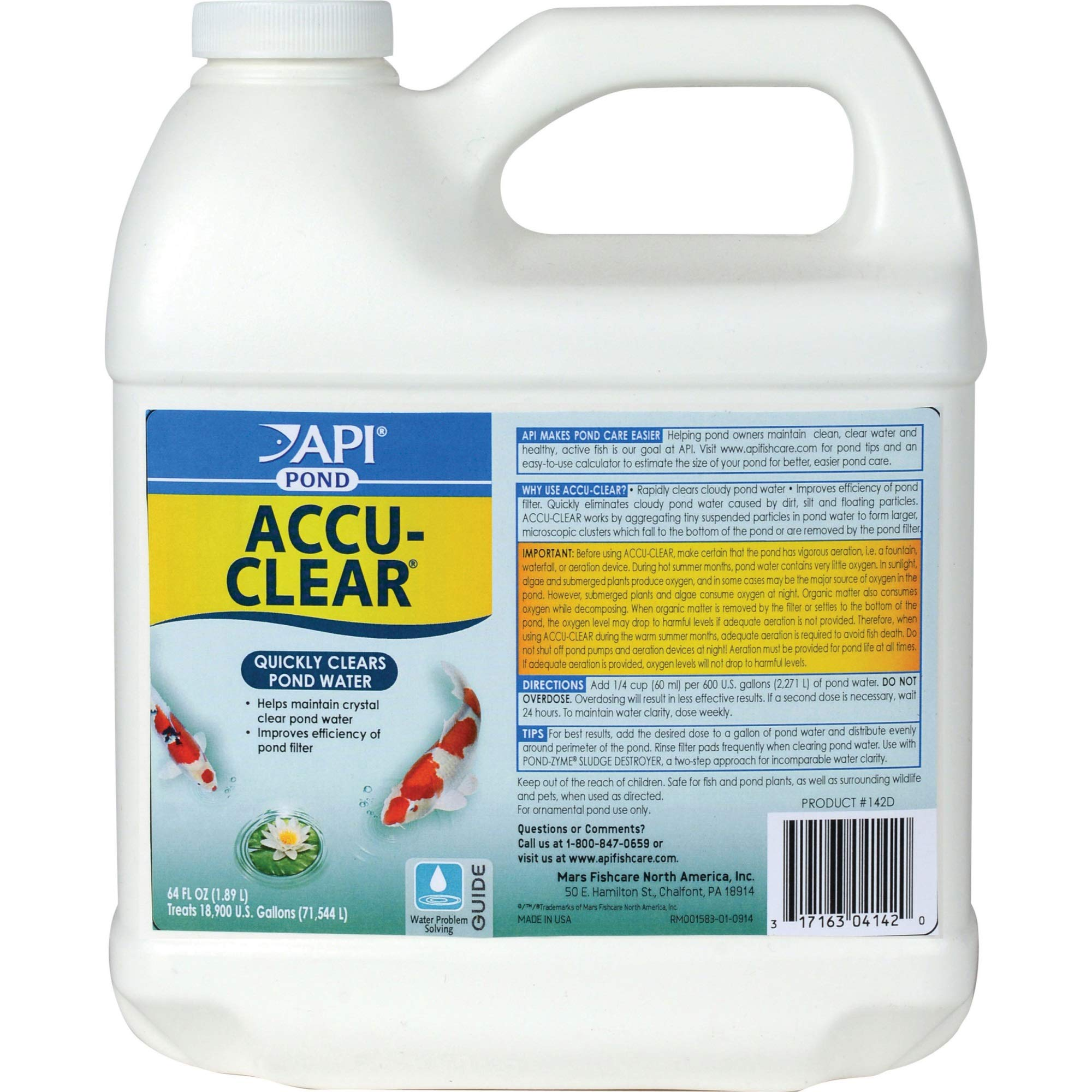 Accu-Clear 64oz by PondCare