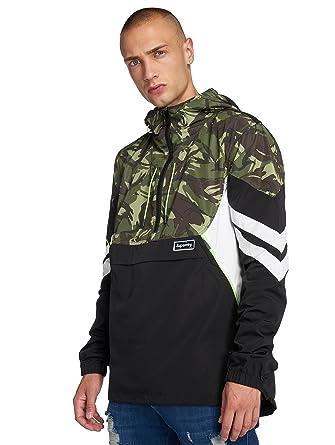 großer Rabatt Genieße den kostenlosen Versand wähle das Neueste Superdry Herren Übergangsjacke Jared Overhead Camouflage M ...