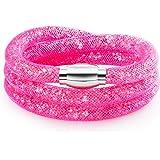 Rafaela Donata - Bracelet fashion plexiglas - En différentes longueurs, bracelet plexiglas, bijoux en plexiglas - 60917093