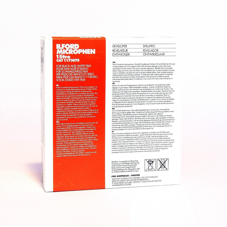 Ilford Microphen開発者(パウダー) forブラック&ホワイトFilm – Makes 1リットル   B01M4P51GZ
