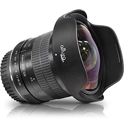 Altura Photo 8mm f/3 0 Professional Ultra Wide Angle Aspherical Fisheye  Lens for Canon EOS 77D 80D Rebel T7 T7i T6i T6s T6 SL2 SL3 DSLR Cameras