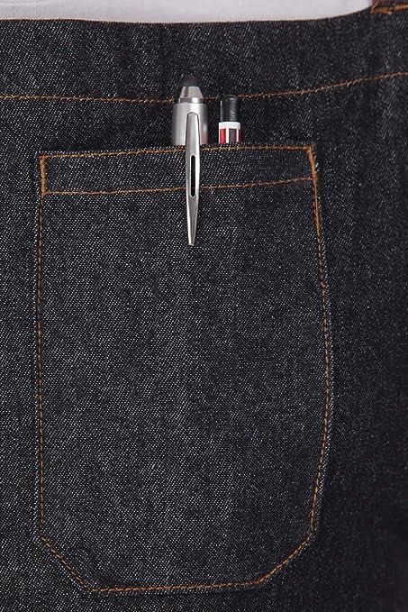 Amazon.com: Delantal de vaquero con bolsillos – Mantente ...
