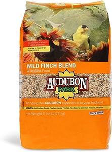 Aududon Park 12229 Wild Finch Blend Wild Bird Food, 5-Pounds