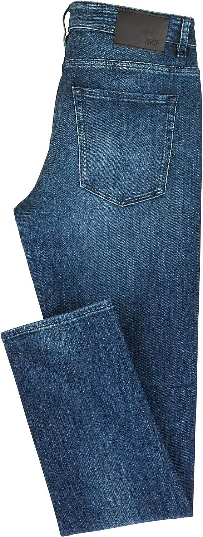 Hugo Boss Mens Delaware Slim Fit Stretch Jeans Jeans