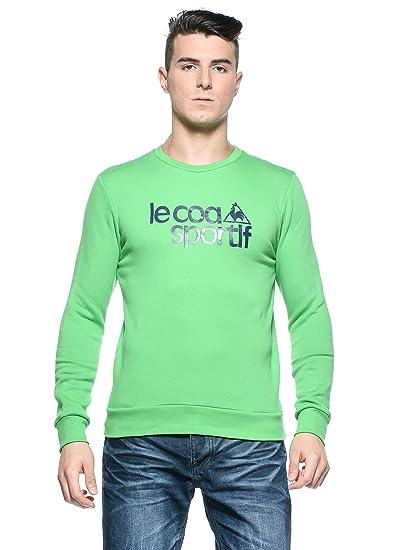 Le Coq Sportif Sudadera Verde/Azul L