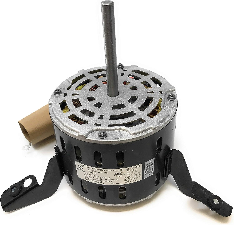 A4137 Goodman OEM Furnace Motor, 1/3HP, 0131F00020