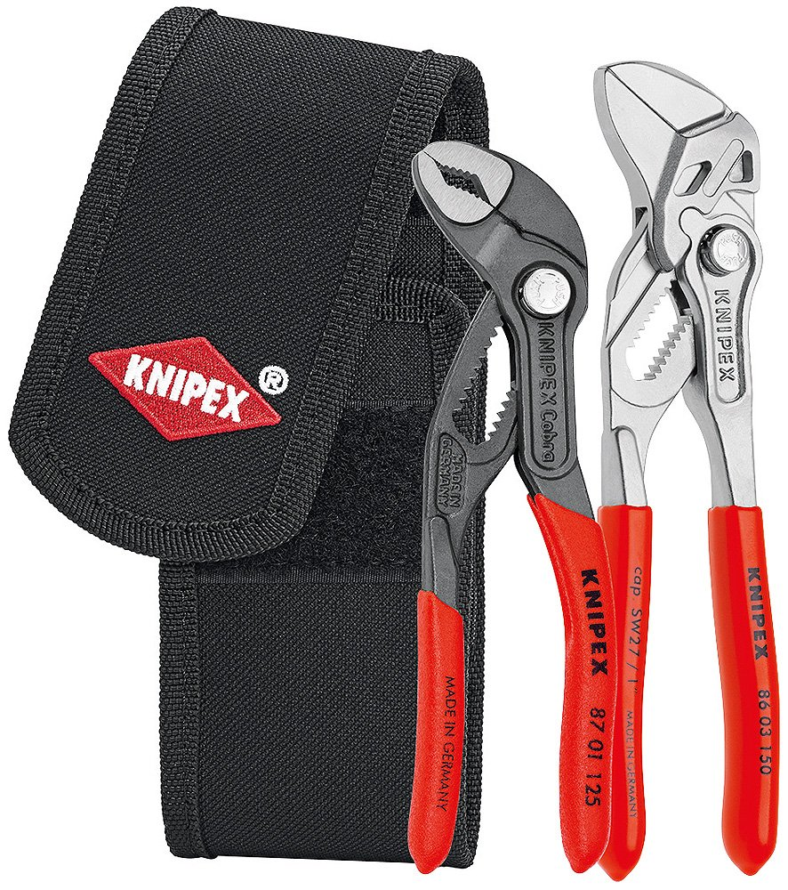 Knipex 00 20 72 V01 Mini pliers Set in belt tool pouch by KNIPEX Tools