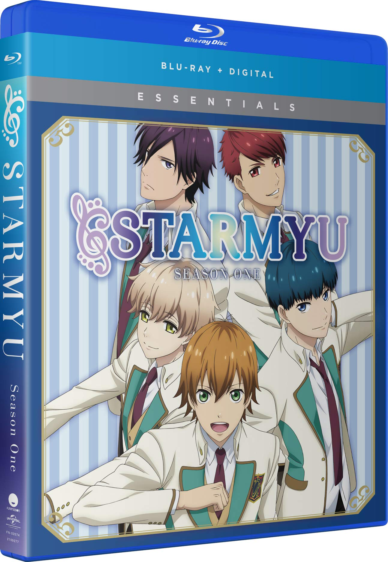 Blu-ray : Starmyu: The Complete Series (Snap Case, 2 Pack, Digital Copy, Subtitled)