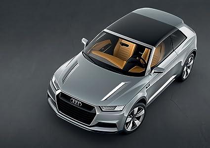 Amazon Audi Crosslane Coup Concept 2012 Car Art Poster Print