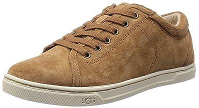 UGG Women's Tomi Chestnut Suede Sneaker 5.5 B ...