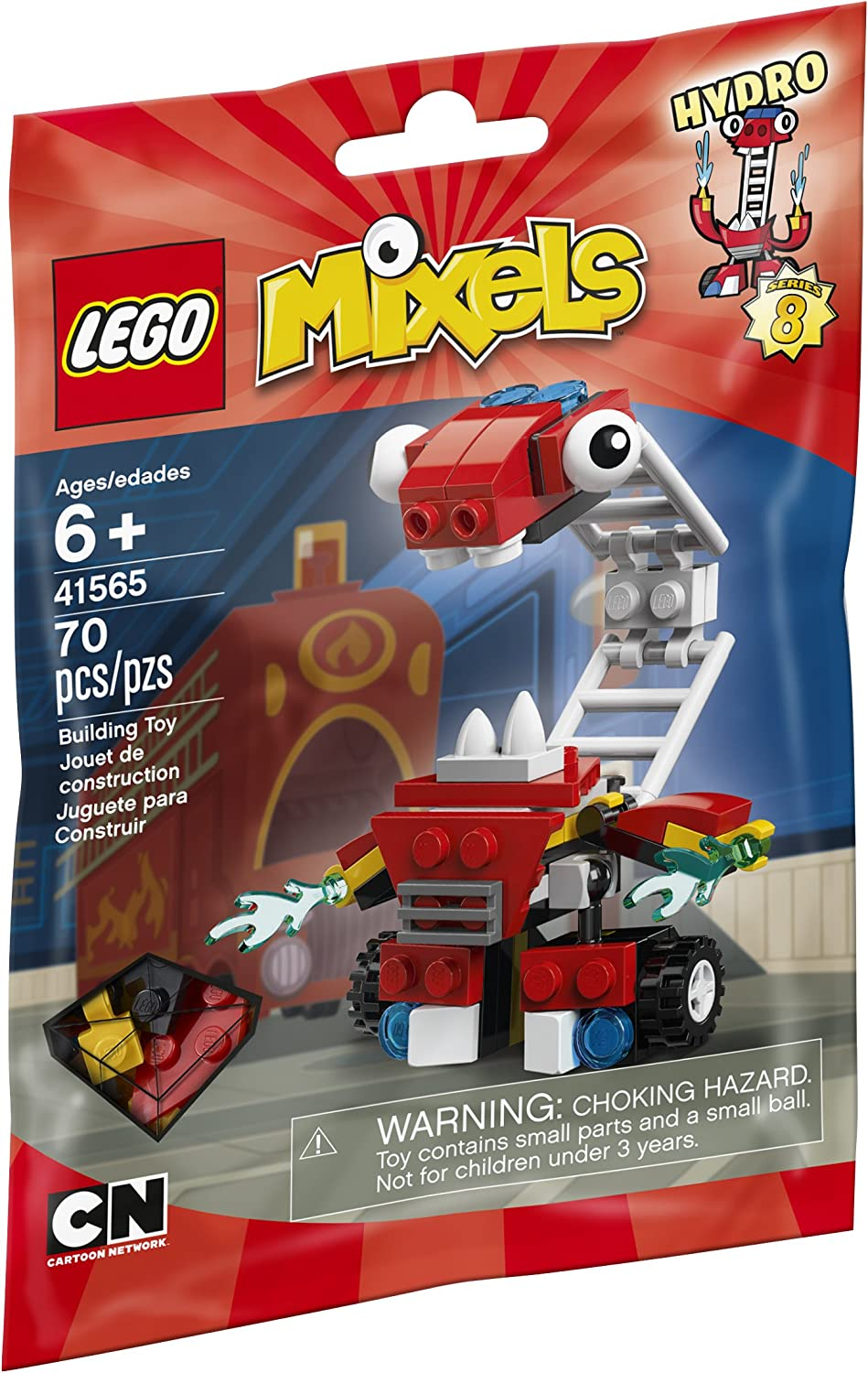 LEGO Mixels 41565 Hydro Building Kit
