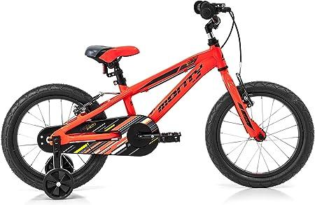 Monty 103 Bicicleta, Unisex niños, Naranja, Talla Única: Amazon.es: Deportes y aire libre