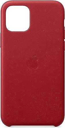 Image ofApple Funda Leather Case (para el iPhone 11 Pro) - (Product) Red