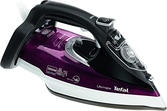 Tefal FV9788 Ultimate Anti Scale Steam Iron, 2800 W, Purple