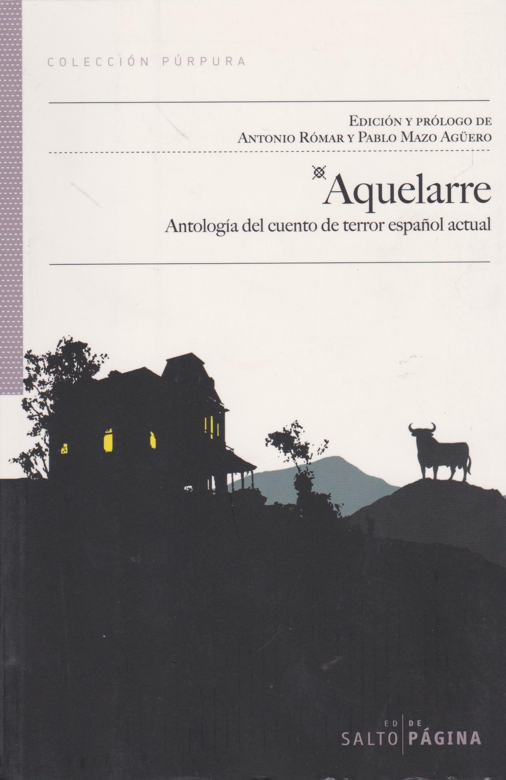 Aquelarre: Antología del relato de terror español actual Colección Púrpura: Amazon.es: Vv.Aa: Libros