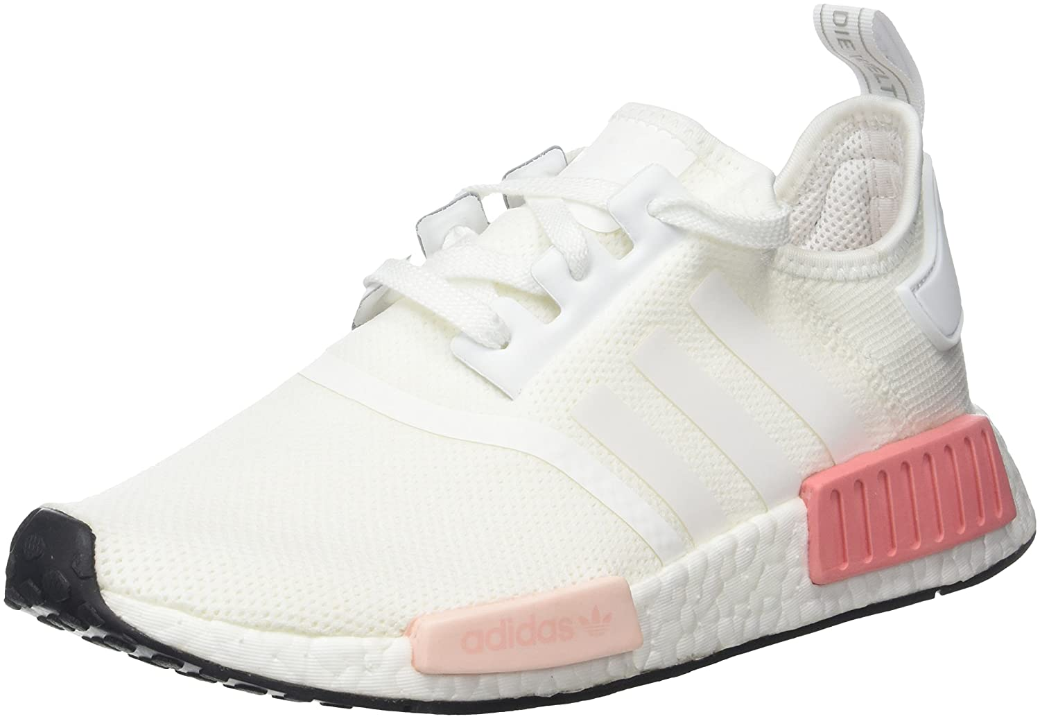 Amazon.com | Adidas - NMDR1 W - BY9952 - Color: Pink-White - Size: 8.0 | Shoes