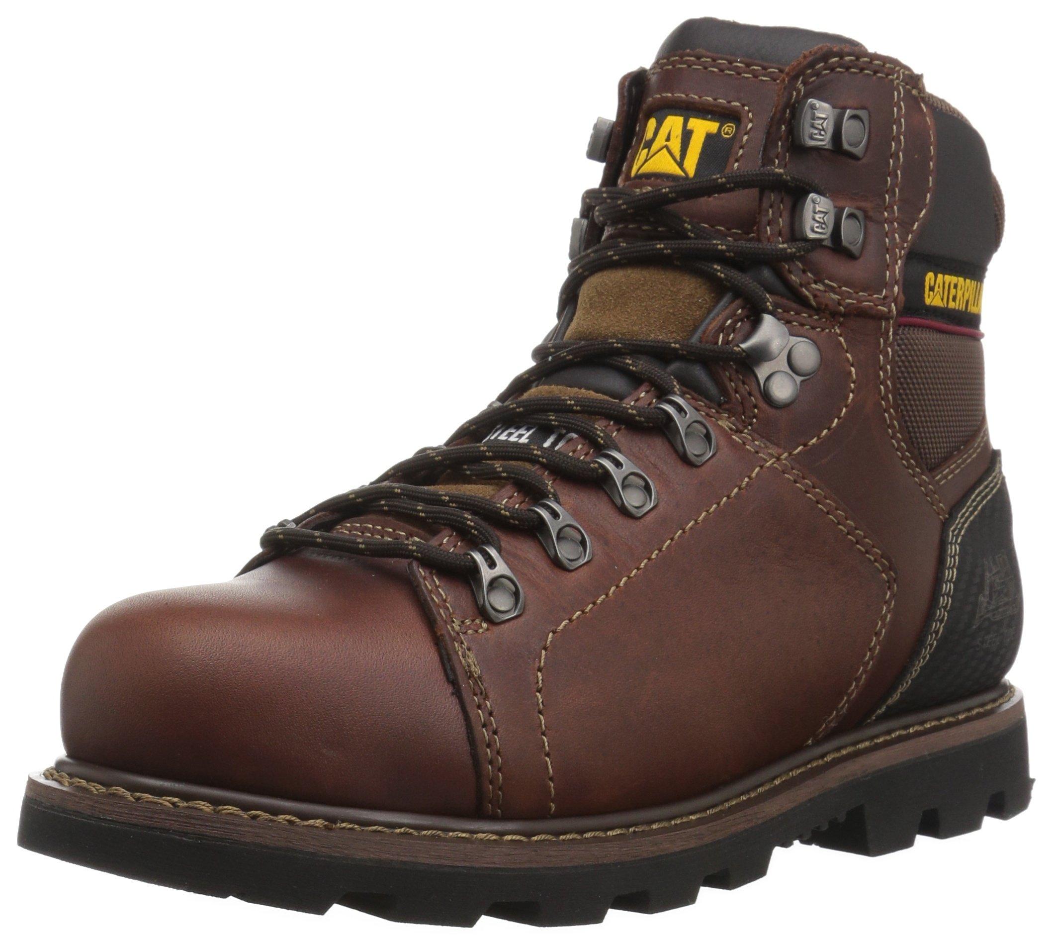Caterpillar Men's Alaska 2.0 Steel Toe Industrial and Construction Shoe, Brown, 10 W US