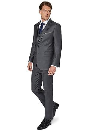 f29eb50e8718 Ermenegildo Zegna Cloth Men`s Regular Fit Grey 2 Piece Suit 48S ...