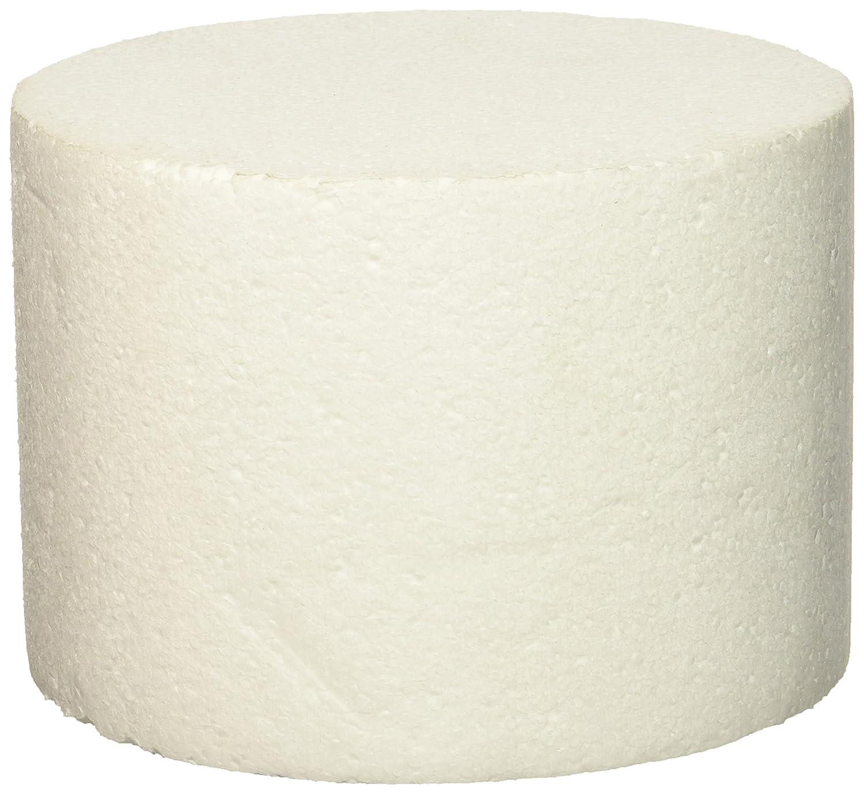 7 x 5 Oasis Supply 747087 Dummy Round Cake White
