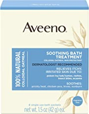 Aveeno Soothing Bath Treatment, 8 Count