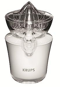 Krups ZX720143 Acrylic Juicer, White