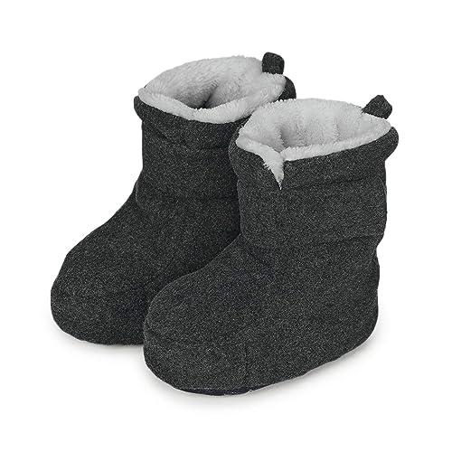 new style 13393 f7a81 Sterntaler Jungen Baby Stiefel mit Klettverschluss, Farbe: Anthrazit  melange, Größe: 21/22, Alter: 18-24 Monate, Artikel-Nr.: 5101616