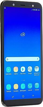 Smartphone Samsung Galaxy J8 SM-J810MZKSZTO, 64 GB, Tela 6'', Preto