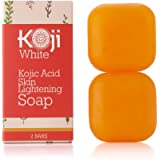 Pure Kojic Acid Skin Brightening Soap for Glowing & Radiance Skin, Dark Spots, Rejuvenate, Uneven Skin Tone (2.82 oz / 2…
