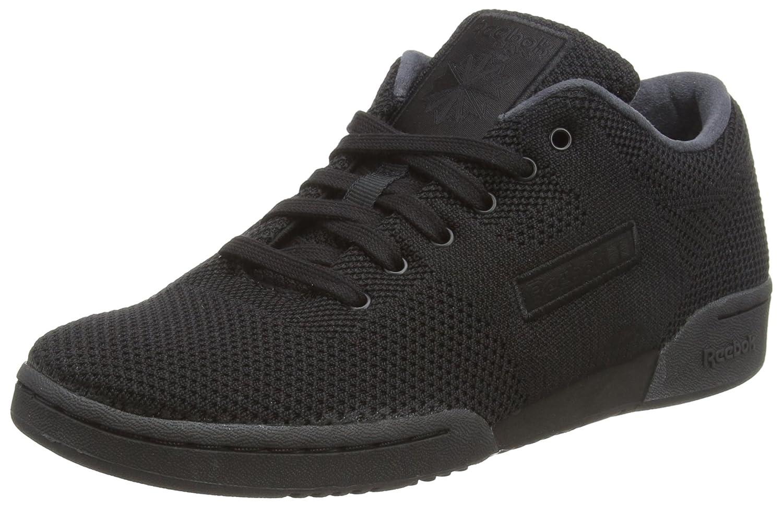 Reebok Workout Clean Ultk, Zapatillas de Gimnasia Unisex Adulto 39 EU|Negro (Black M E T E O R Grey Black M E T E O R Grey)