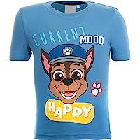 Brandsseller Camiseta de manga corta para niños, diseño de La Patrulla Canina, color azul