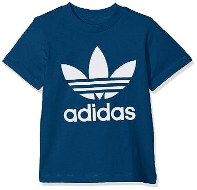 adidas Trefoil tee Camiseta, Bebé-Niños: Amazon.es: Ropa y accesorios