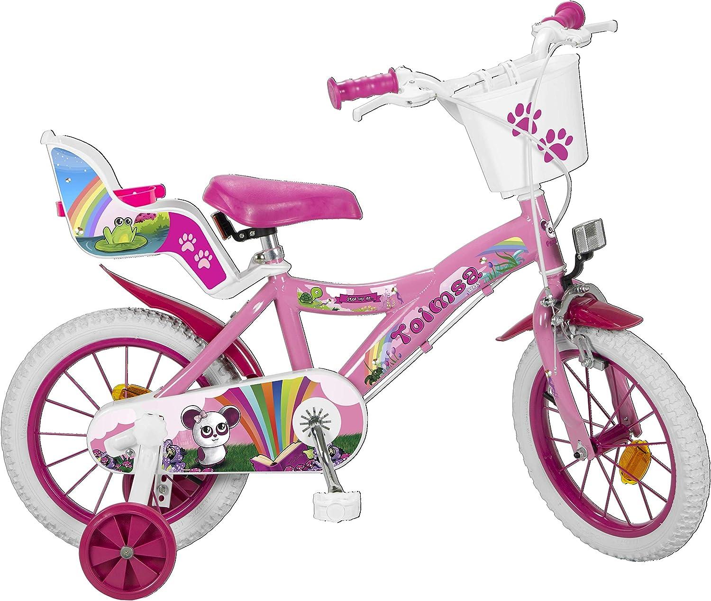 Toimsa 14111 Fantasy - Bicicleta de 14 pulgadas (4-6 años), multicolor , color/modelo surtido